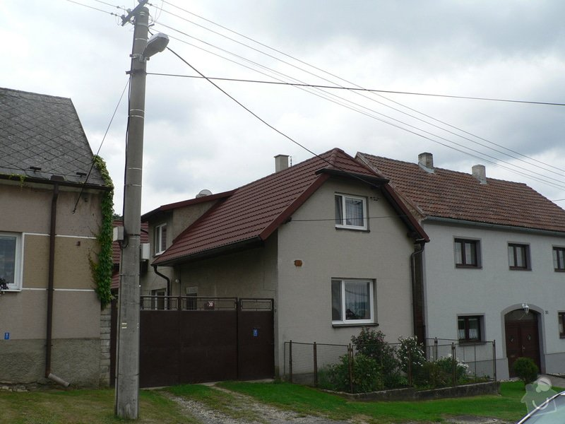 Střecha RD: P1030202