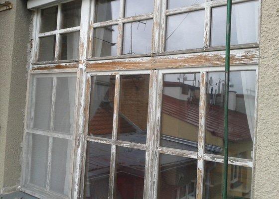Natírání dřevěných oken
