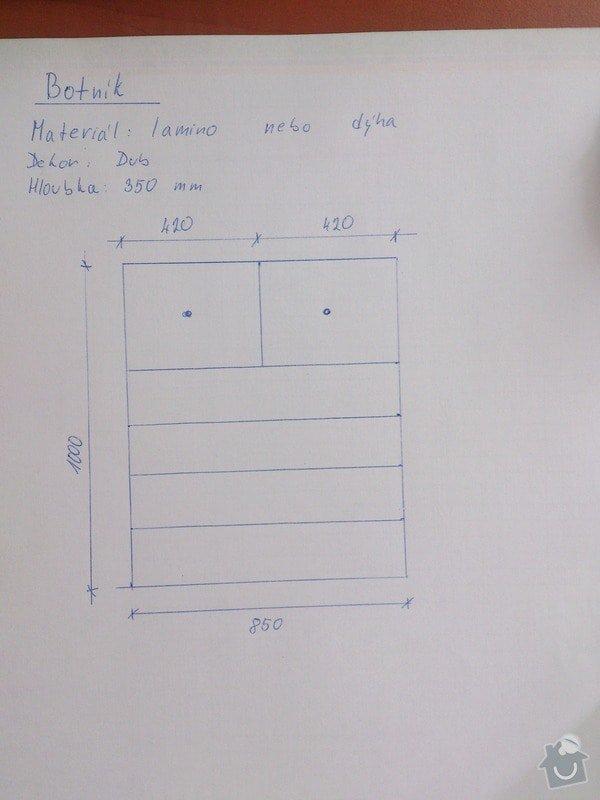 Botník, šatní skříň: Butnik_Duskova