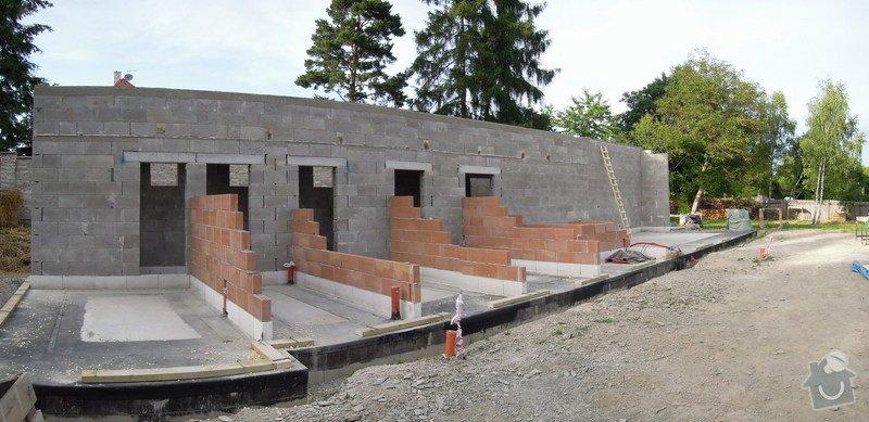 Dodávka a montáž dřevěné konstrukce a krovu rodinného domu : 0