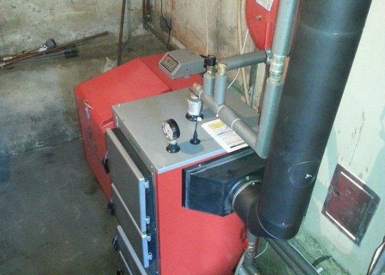 Automatický kotel 20 kw + montáž