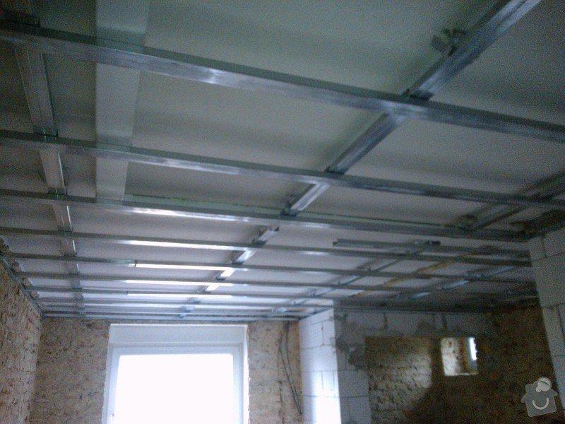 Rošt pro sádrokartonový podhled 50 m2: WP_000439