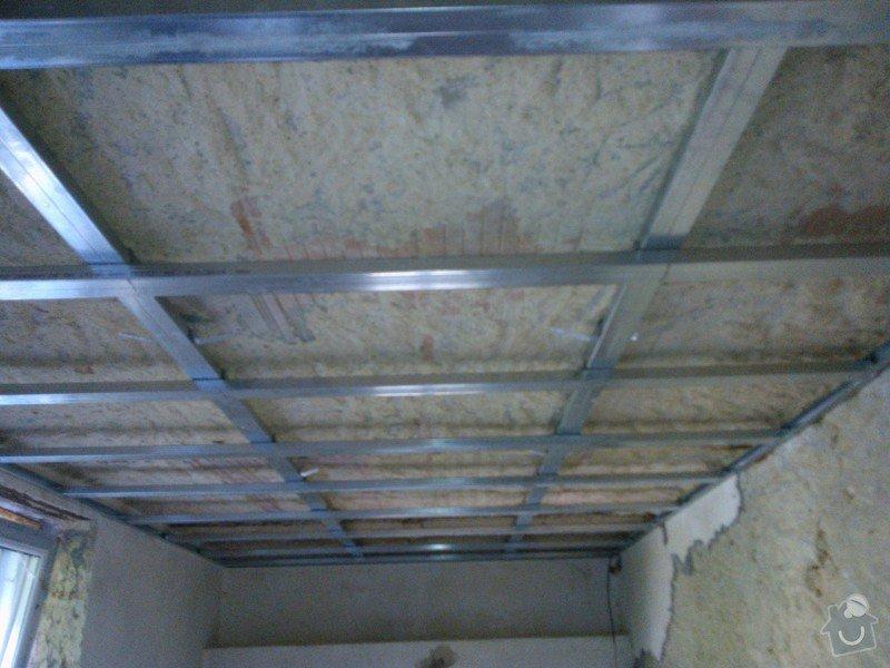 Rošt pro sádrokartonový podhled 50 m2: WP_000458