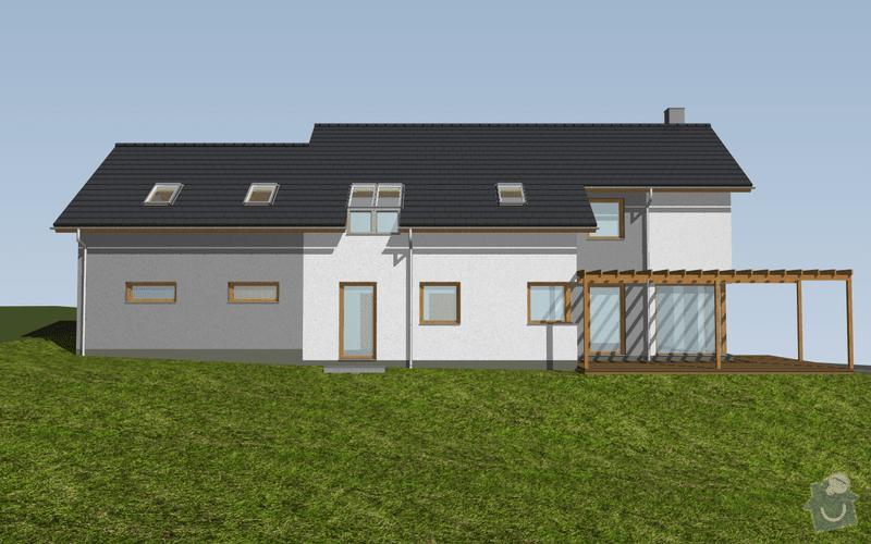 Venkovní terasa se zastřešením: 02-p1