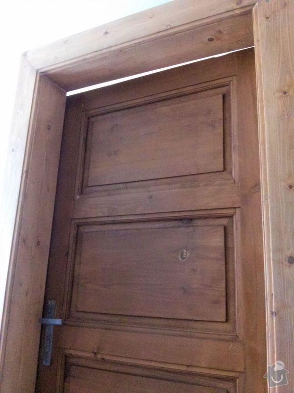 Renovace dveří: fuga