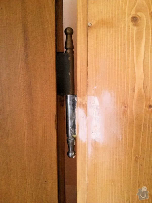 Renovace dveří: tmel