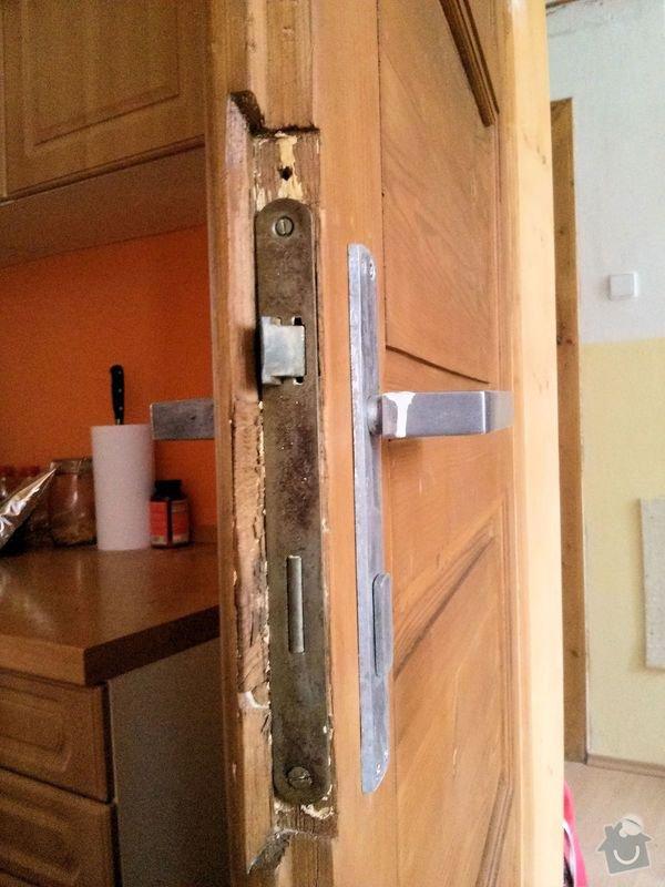 Renovace dveří: barva1