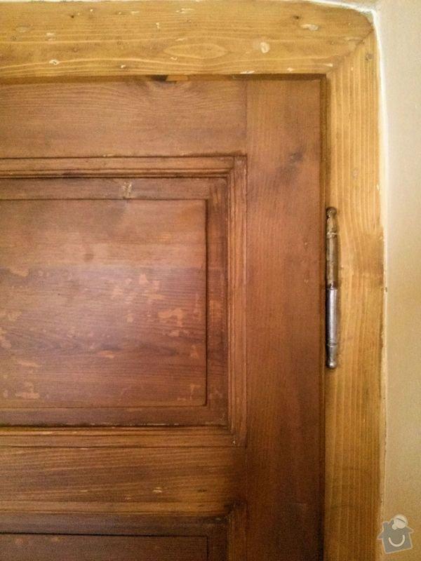Renovace dveří: barva