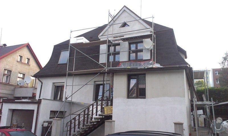 Zateplovací fasáda rodinného domu: IMAG0805