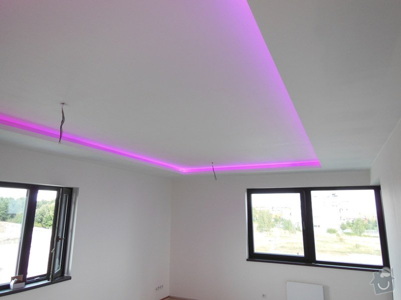 Sádrokartonová svetelná rampa: DSCN1526