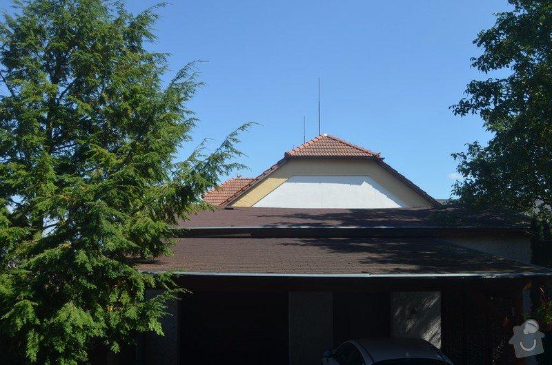 Rekonstrukce střechy nad garáží a přístřeškem pro auta: Mzany_strecha_4
