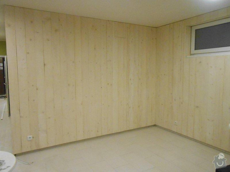 Dřevěné obložení stěn: DSCN3281