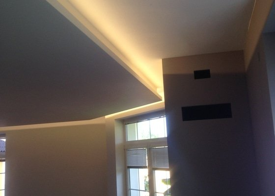 Rekonstrukce obývacího pokoje - Šeberov