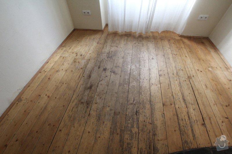 Renovace bytu Vršovice 3.-12.září: kuchyne_podlaha
