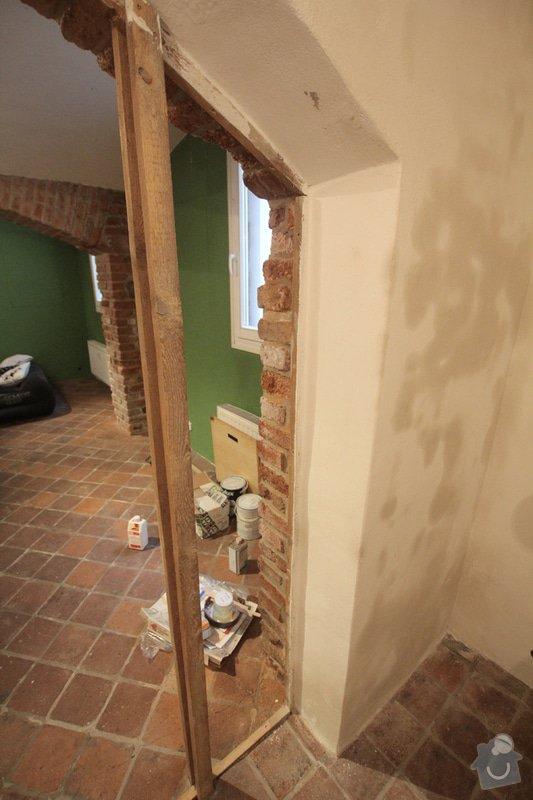 Renovace bytu Vršovice 3.-12.září: stena