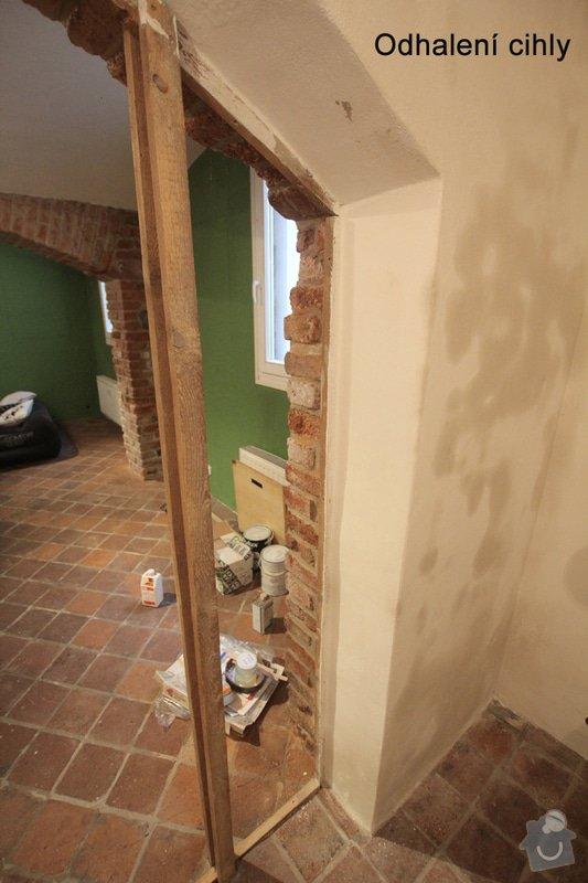 Renovace bytu Vršovice 3.-12.září: Vyklenek_loznice