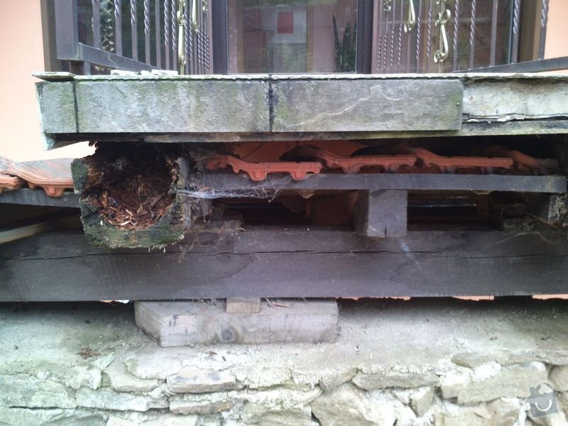 Rekonstrukce/oprava mostku u rodinneho domu: DSC_0305
