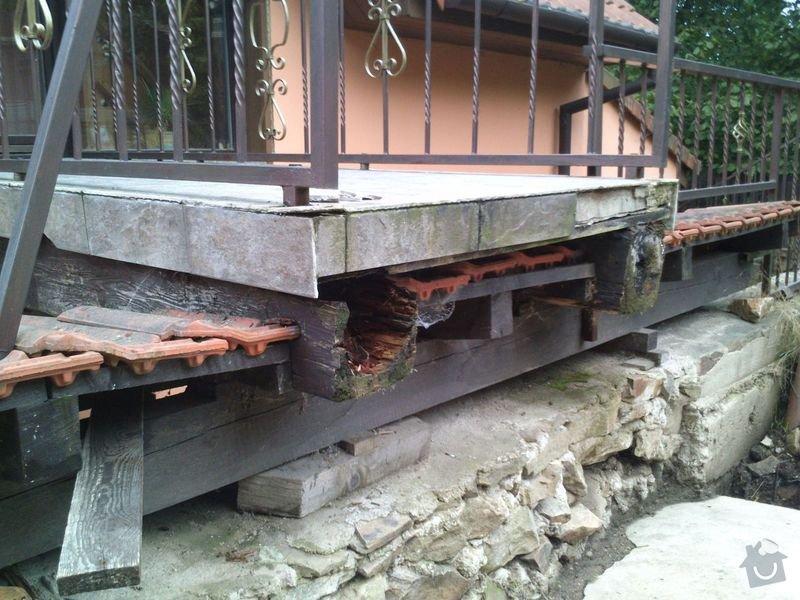Rekonstrukce/oprava mostku u rodinneho domu: DSC_0306
