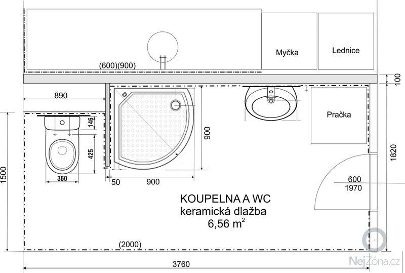 Rekonstrukce bytového jádra: jadro_nove