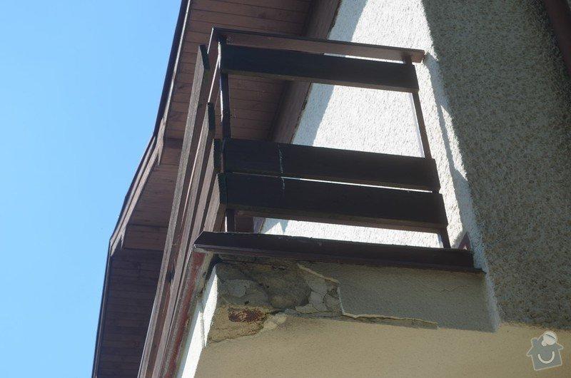 Kompletní opravu balkónu, štítu a související práce: Mzany_balkon_4