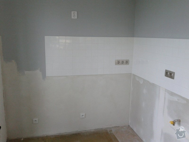 Rekonstrukční práce v bytě: 20140901_094551
