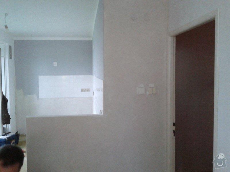 Rekonstrukční práce v bytě: 20140901_094638
