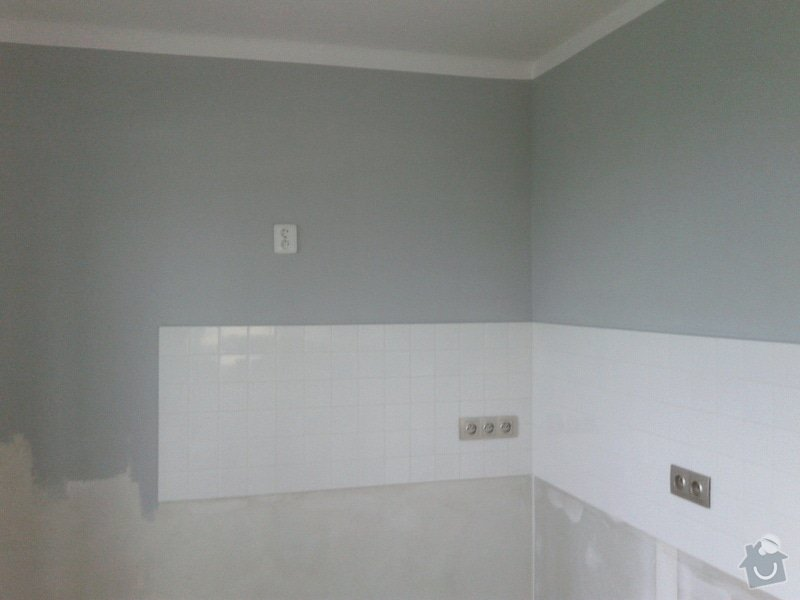 Rekonstrukční práce v bytě: 20140901_094557