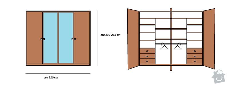 Šatní skříňě na míru: navrh_skrine_01