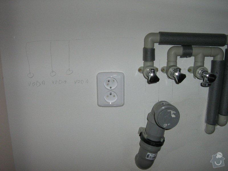Instalatérská práce: Úprava rozvodu vody- odpad+voda myčka: IMG_2992