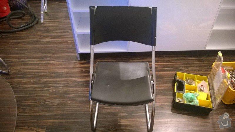 Čalounění jídelních židlí 4ks: WP_20140826_001