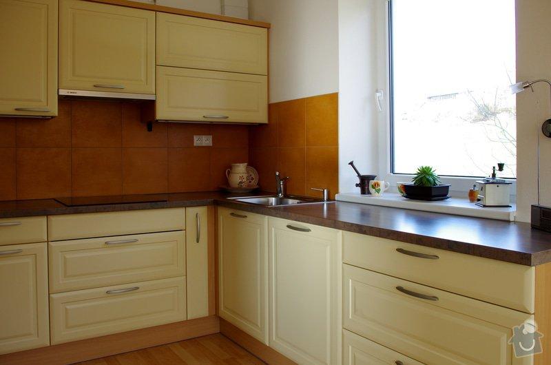 Návrhy interiérů novostavby bytu, zajištění výroby a montáže: IMGP6344s
