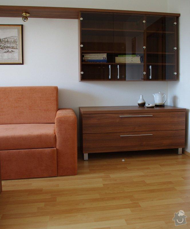 Návrhy interiérů novostavby bytu, zajištění výroby a montáže: IMGP6326s