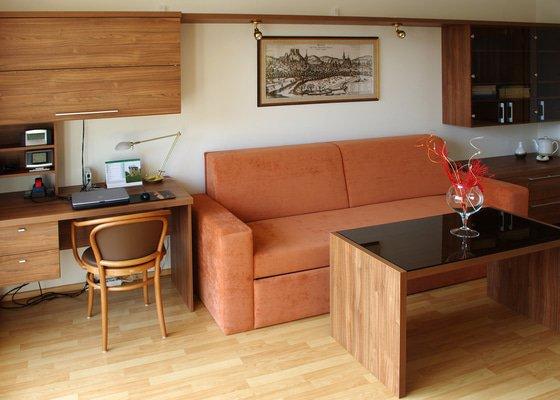Návrhy interiérů novostavby bytu, zajištění výroby a montáže