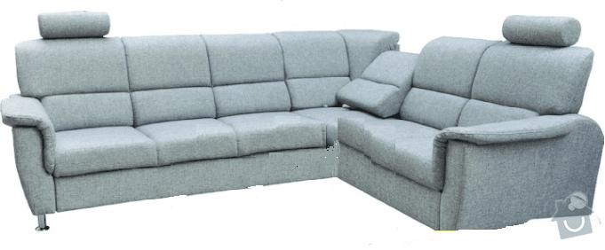 Přečalounění pohovky: sedacka