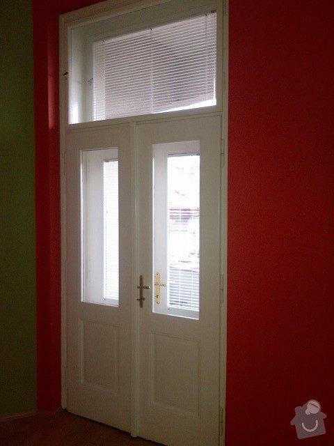 Renovace nátěru špaletových oken a dveří: Dvere_lodzie