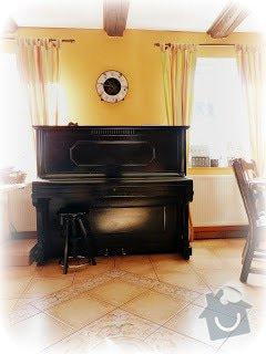 Stěhování piana a domácnosti: piano