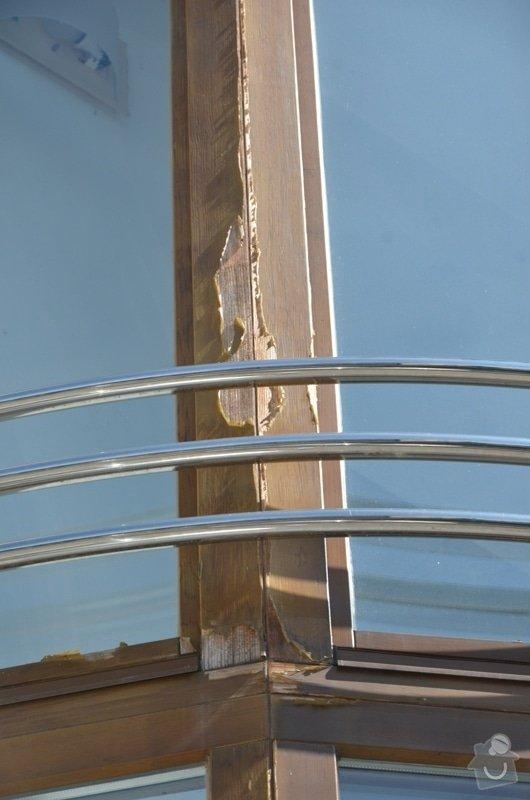 Malířské práce - ošetření dřevěných oken a dveří na administrativní budově Vyškov: DSC_8413