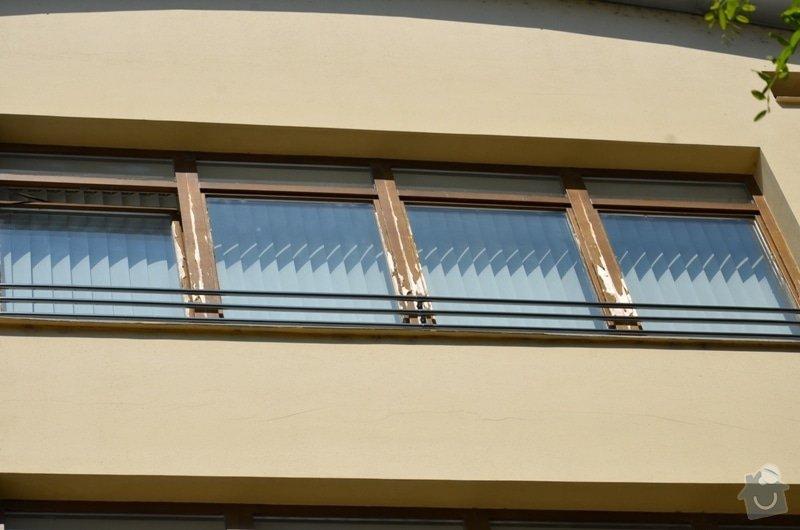 Malířské práce - ošetření dřevěných oken a dveří na administrativní budově Vyškov: DSC_8459
