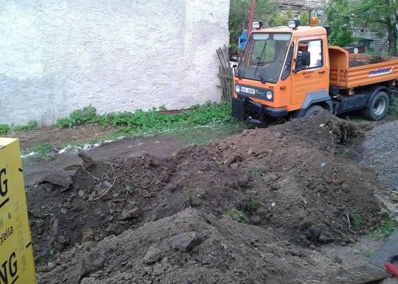 Stavba, zemní práce