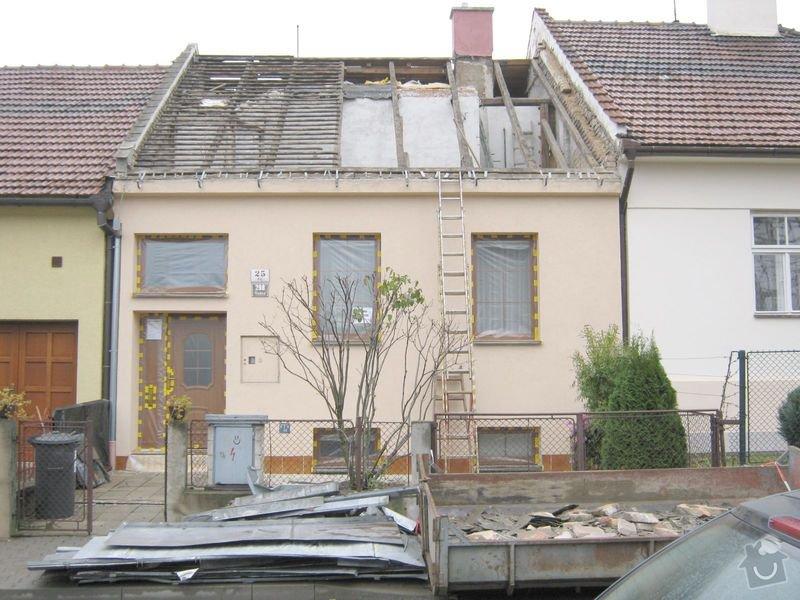 Nástavba rodinného domu: Raj_25_061a