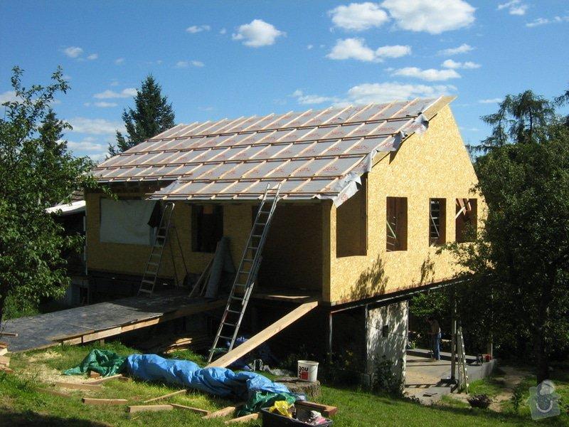 Nástavba rodinného domu: stavba_024