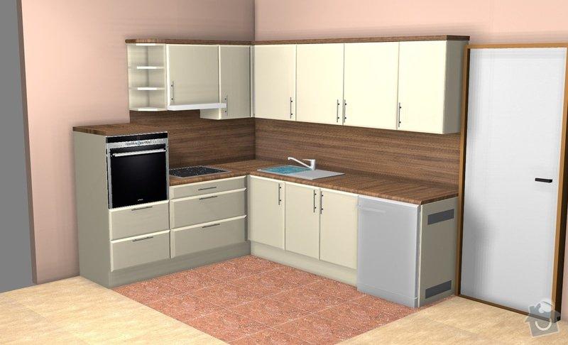 Návrh a zajištění realizace kuchyňské linky: fin