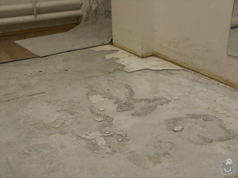 Vyrovnání podhaly, pokládka kachliček: rozbita_podlaha06