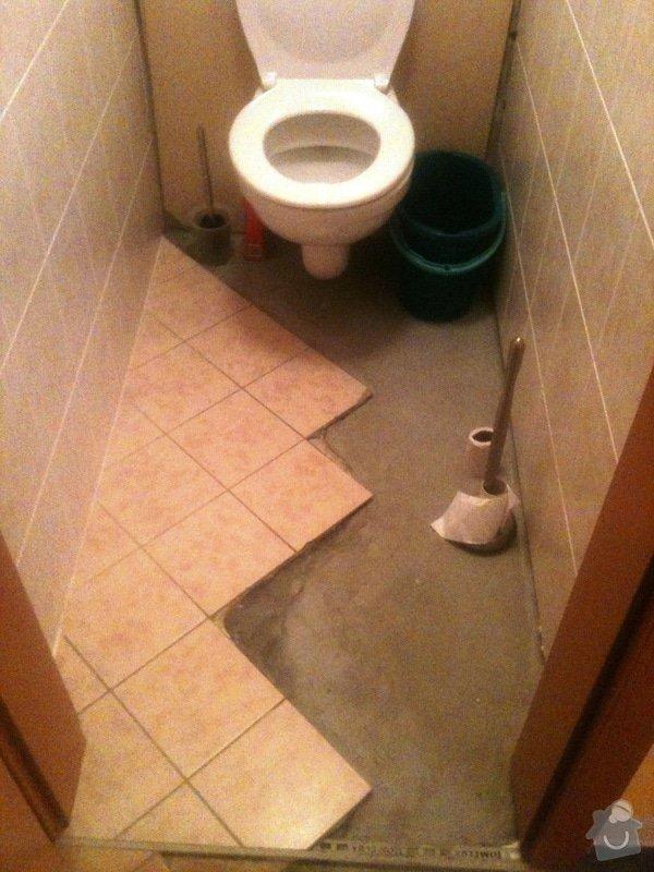 Opravu obkladů a dlažby na WC v bytě 1+kk: Oprava_Dl._Obkl_WC_1_
