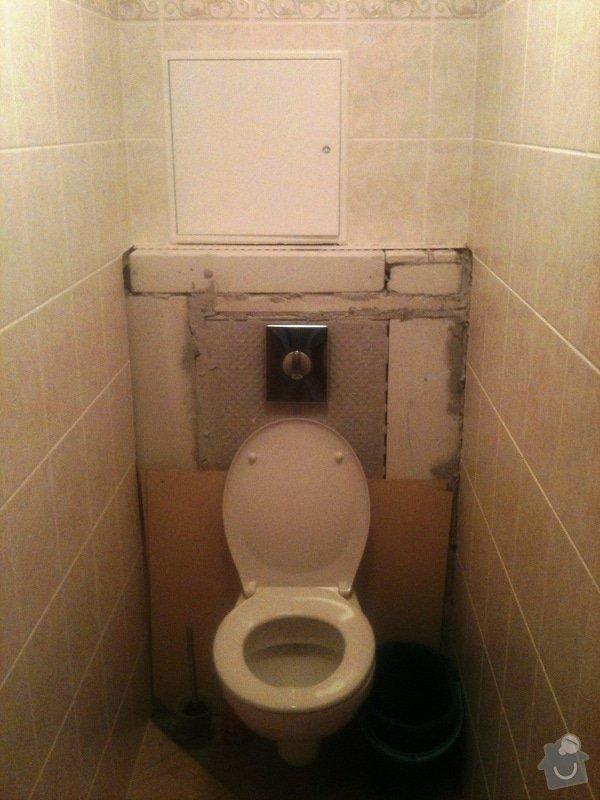 Opravu obkladů a dlažby na WC v bytě 1+kk: Oprava_Dl._Obkl_WC_2_