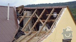 Zhotovení střechy: P1020061