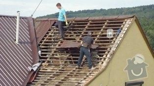 Zhotovení střechy: P1020059