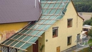 Zhotovení střechy: P1020063