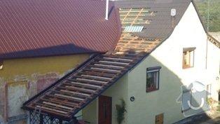Zhotovení střechy: P1020305