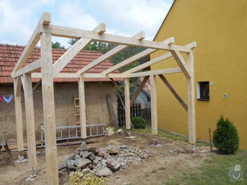 Zastřešená zahradní pergola: DSCN1620
